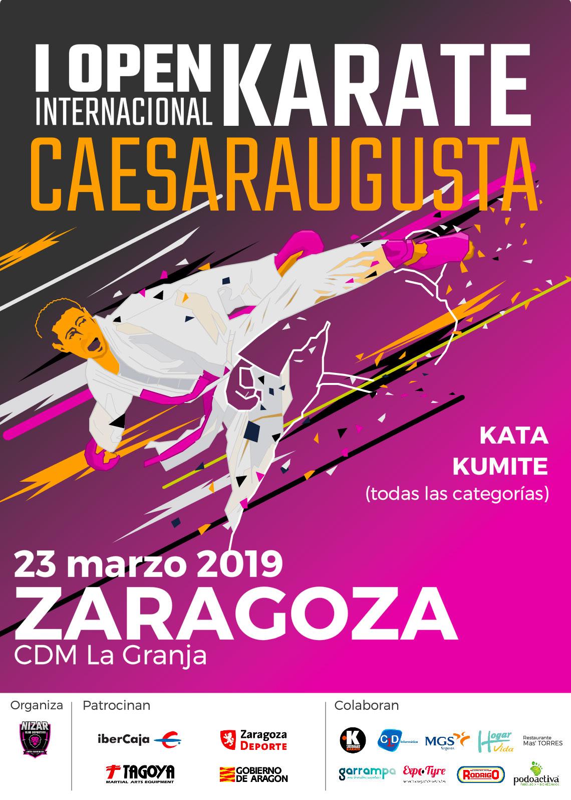 I Open Caesaraugusta 2019