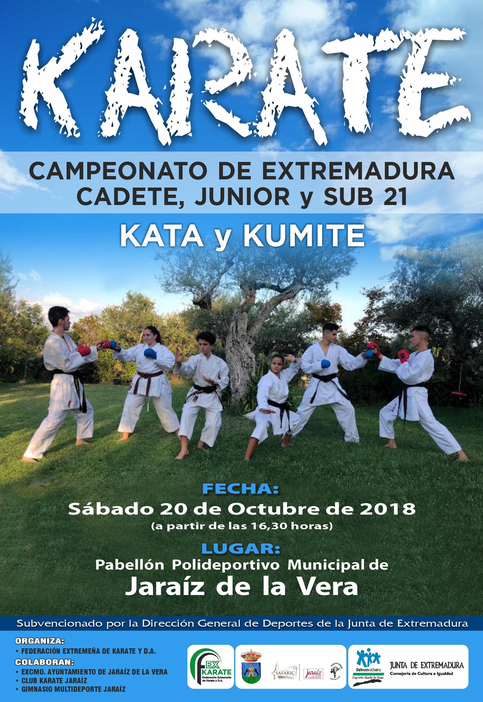Campeonato Cadete-Junior-Sub21-Senior 2018