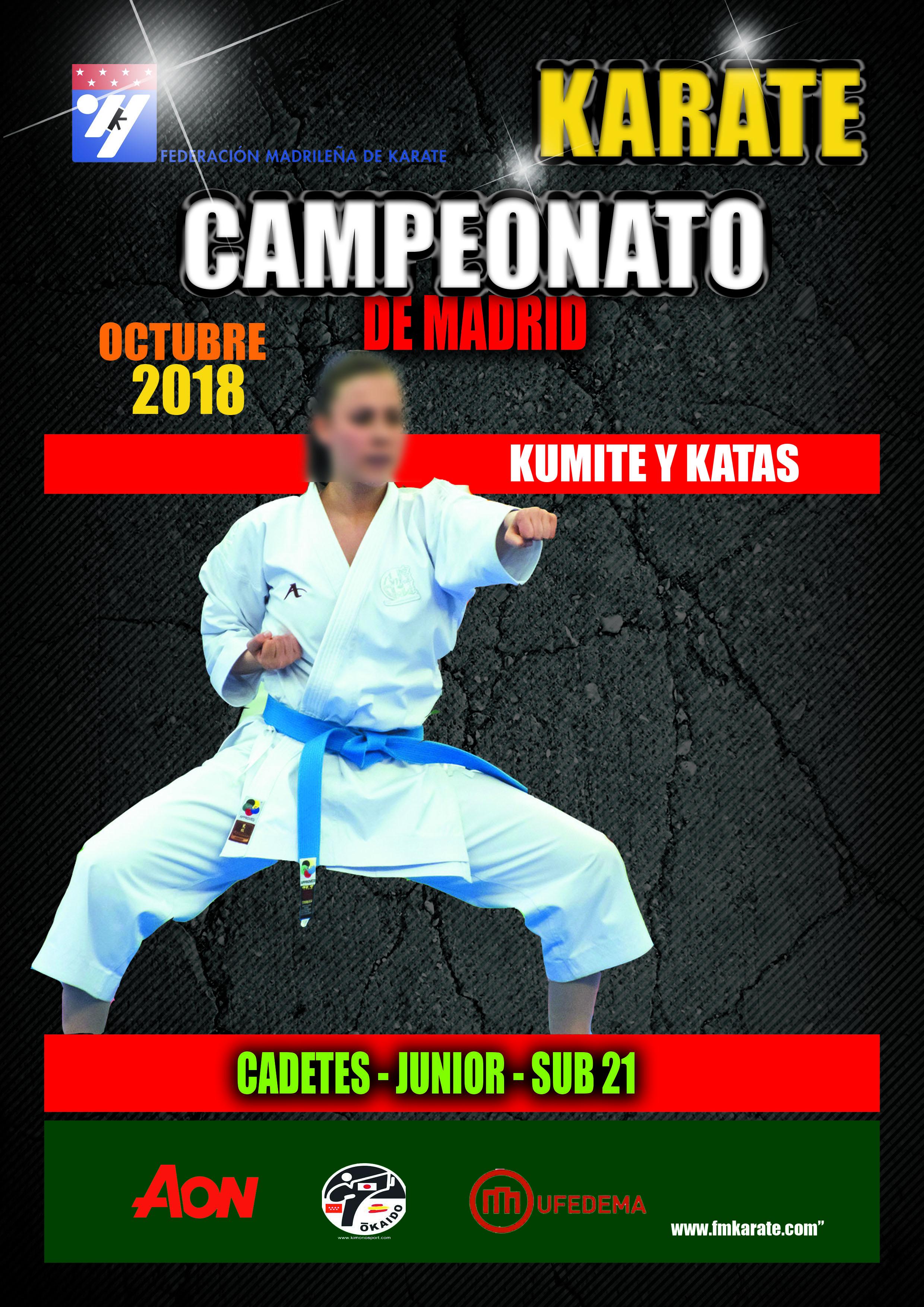 FMK Campeonato Cadete-Junior-Sub21 2018